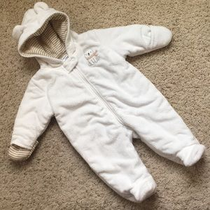 Just one you, Carter's 3 month fleece snow suit